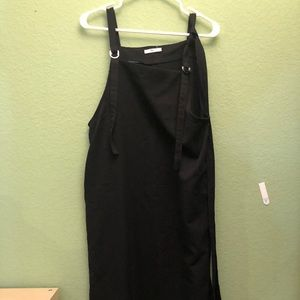 Black midi dress size M